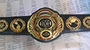 New Replica ROH Belt, Ring of Honor Champion Belt Adult Size Metal Plates &