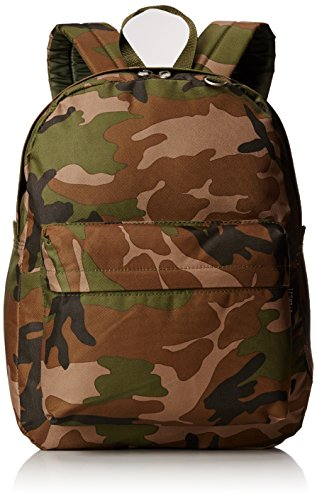 Everest Classic Woodland Camo Backpack, Camouflage, One (Everest Bags Backpack)