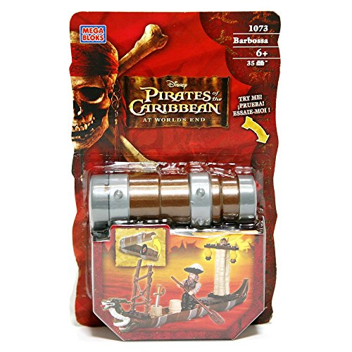 Mega Bloks Pirates of the Caribbean 3: Captain Barbossa Spyglass Pirates Gear ()