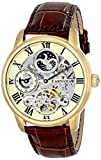 Thomas Earnshaw Men's ES-8006-06 Longitude Analog Display Automatic Self Wind Brown Watch