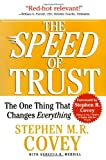 Book cover for The SPEED of Trust: The One Thing That Changes Everything