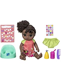 Potty Dance Baby: Talking Baby Doll with Black Curly...