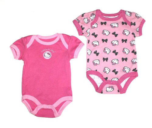 Hello Kitty Baby 2 Piece Set, Pink Multi 0-3 Months