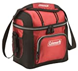 cooler coleman soft - Coleman 9 Can Cooler,Red