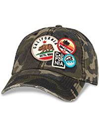 5a415565bf3 Iconic Patch Distressed Dad Hat California (43910A-CALI-Parent)
