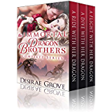 The Immortal Dragon Brothers, A Complete Series (Paranormal BBW Dragon Shifter Romance)