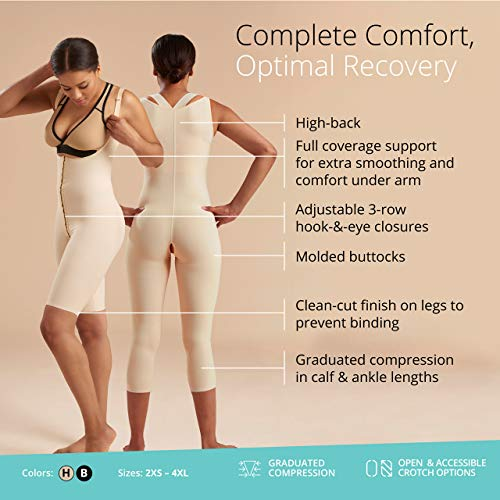 2592acec9 Jual Marena Recovery Mid-Calf-Length Girdle with High-Back