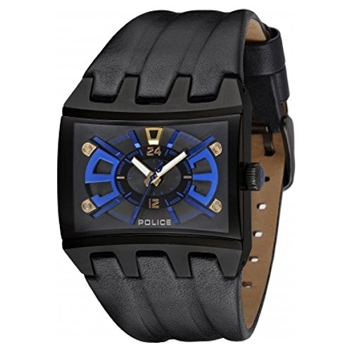 Police Dimension Men's Gents Quartz Analog Watch - PL 13420JSB-02B