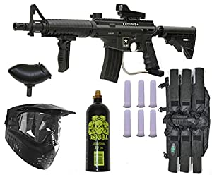 7. U.S. Army Alpha Black Elite E-Grip .68 Caliber Paintball Marker