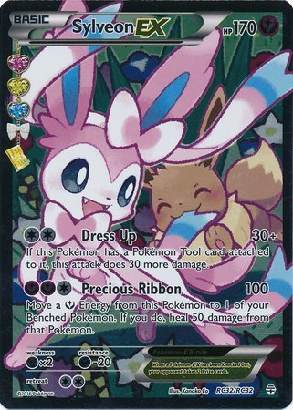 (Pokemon - Sylveon-EX (RC32) - Generations - Holo)