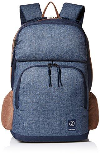 Volcom Volcom Roamer Backpack Blau Rucksack - Zaini Uomo, Blu (Camper Blue), 17x32x47 cm (B x H T)