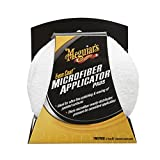 Meguiar's X3080 Even Coat 5' Microfiber Applicator Pads, 2 Pack