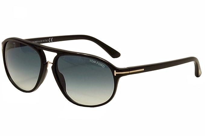edcc528c65c Tom Ford Men s FT0447 01P 60 Sunglasses