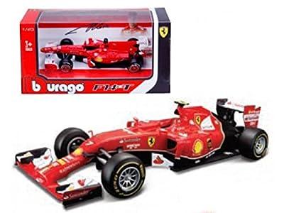 2014 Ferrari Formula 1 F14-T Alonso / Raikonnen 1/43 by BBurago 36801