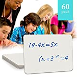 "60 Pack Dry Erase Lap Board 9""X12"" 