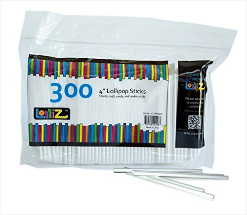 LolliZ 4 in. Lollipop Sticks 300 Count KitchenMarket NA