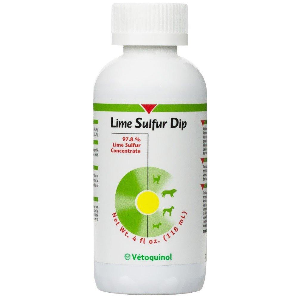 Vetoquinol Lime Sulfur Dip Pet Itch Concentrate