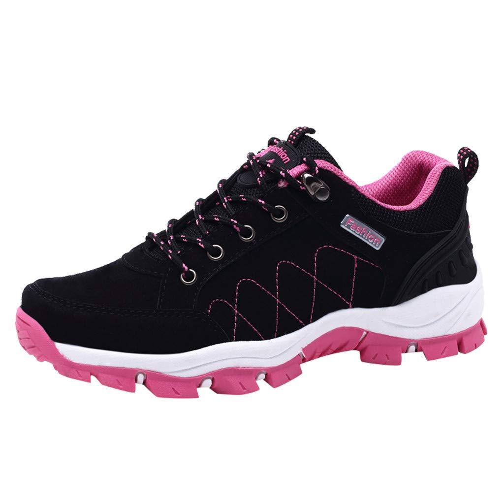 ZODOF Zapatillas de Deporte de Mujer Malla Respirable Zapatos de ...