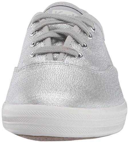 Keds Donna Campione Argento Moda Sneaker Lurex