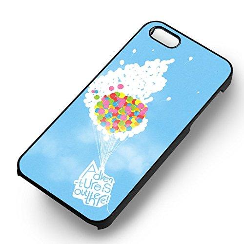 Adventure UP Quote pour Coque Iphone 6 et Coque Iphone 6s Case (Noir Boîtier en plastique dur) F5V3UL