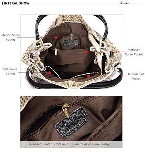 De en en Sac Qualité Femme De pour Messager Haute Cuir Portable Cuir Black tXw0wCq