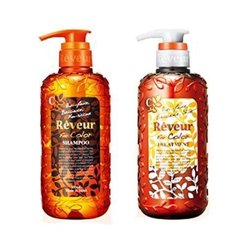 Reveur Non Silicon for Color Shampoo and Conditioner 500ml set