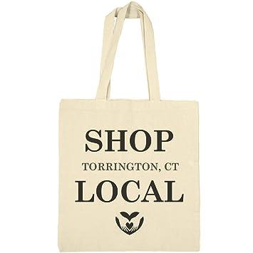 Amazoncom Shop Local Torrington Ct Canvas Bargain Tote Bag
