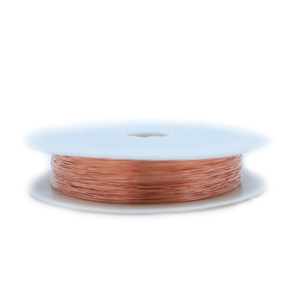16 Ga//43 Ft Solid Bare Copper Round Wire 5 Oz Spool Dead Soft 12 To 30 Ga