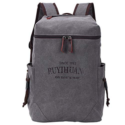 Beauty&YOP School Backpack, Unisex Classic Lightweight Water-Resistant Backpack for Men Women College Travel Bookbag Black Laptop Backpack Large Diaper Bag Doctor Bag Backpack