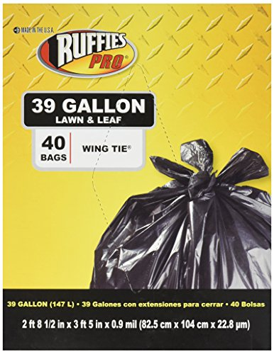 39 gallon heavy duty trash bags - 8