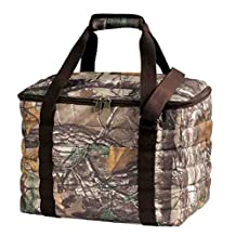 Realtree Extra Large 36 Can Insulated Lunch Bag Cooler with Padded Handle (Water/weather Resistant)
