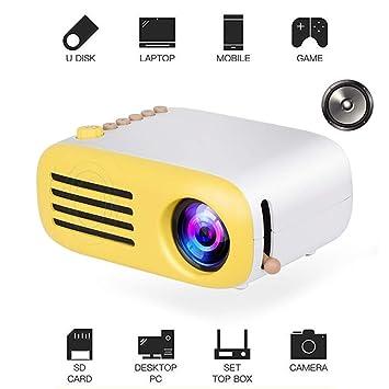 Konnison-1 Mini proyector, proyector LED Pico para Cine en casa ...