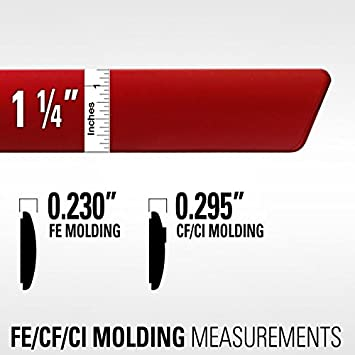 NH797M MODERN STEEL Dawn Enterprises FE-FIT15 Finished End Body Side Molding Compatible with Honda Fit