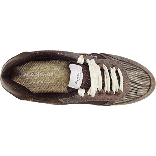 Femme Marron Noir Trail Sneakers Sally Sky Pepe Jeans Basses 0Yq4RnXx