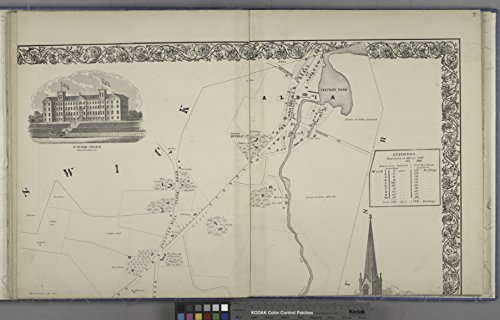 ted Poster Map of St. Peters Collage;City of Troy (Cont.) NYPL1584723 Poster Print 24 X 36 ()