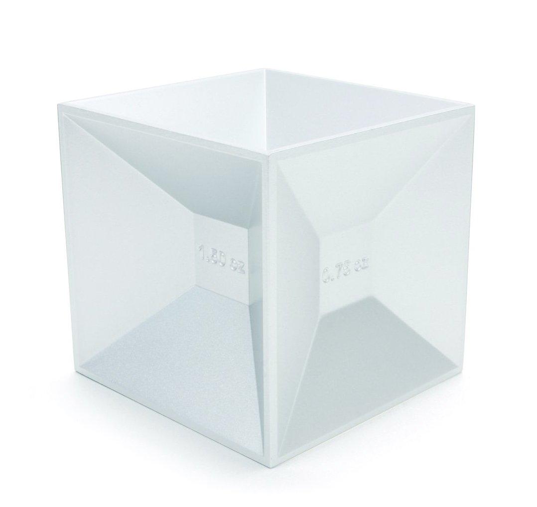 Kikkerland Measuring Jigger Cube