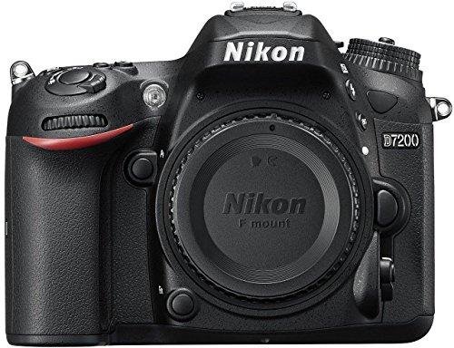 Nikon D7200 24.2MP Digital SLR Camera Body Only  Black  with Card, Camera Bag