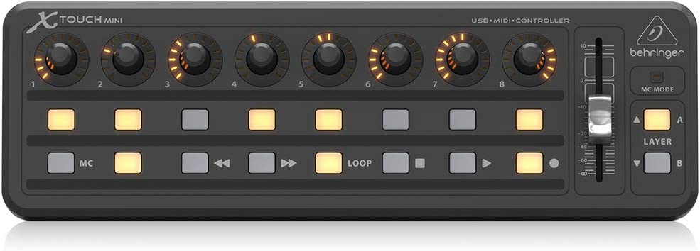 Behringer X-TOUCH MINI Midi Controller: Amazon.co.uk: Musical Instruments