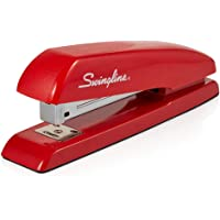 Swingline Stapler, Milton's Red Stapler from Office Space Movie, 646 Desktop Stapler Heavy Duty, 20 Sheet Capacity, For Office Decor, Desk Accessories & Home Office Supplies (64698)