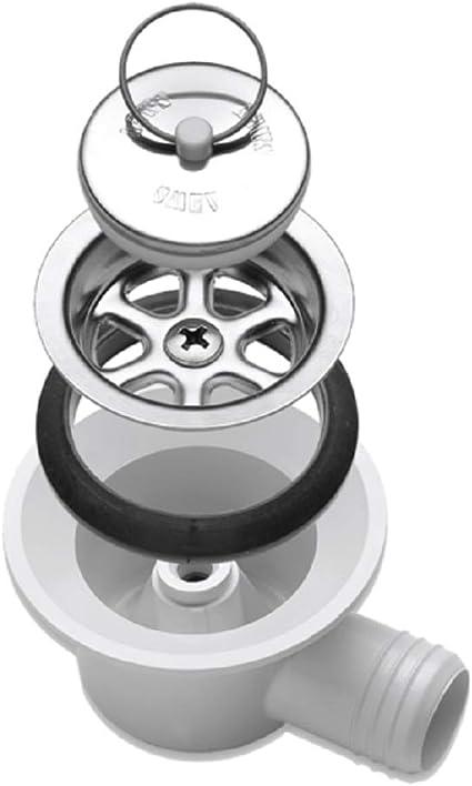 Smev Dometic Ablaufgarnitur Für Waschbecken Abgewinkelt Für 25 Mm Schlauch Auto