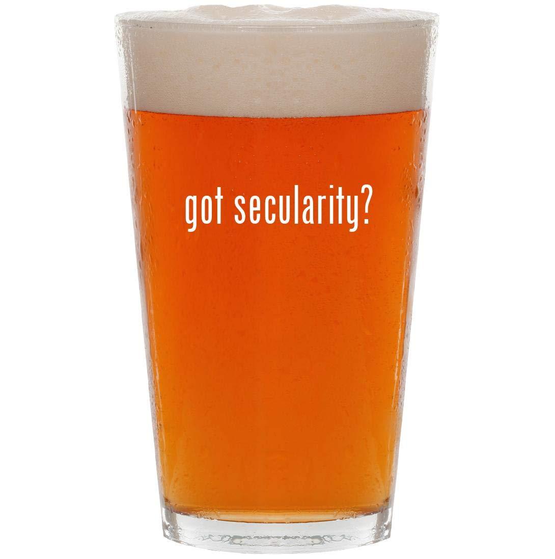 got secularity? - 16oz Pint Beer Glass