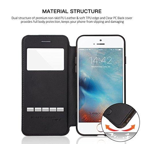 Folio G-Case Sense Black pour iPhone 7+