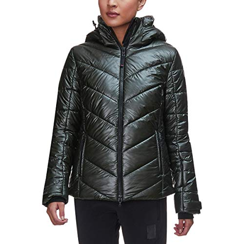 - Bogner Fire + Ice Sassy Metallic Jacket - Women's Dark Olive, 8
