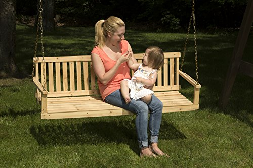 Buy wood for porch swing