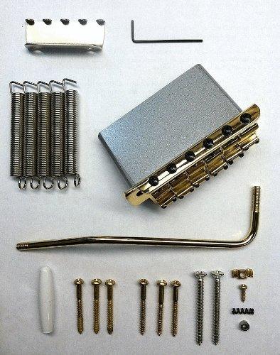 Fender American Vintage Stratocaster Bridge Tremolo Assembly - Gold