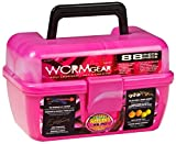 South Bend Wormgear Tackle Box-88 Piece (Pink)