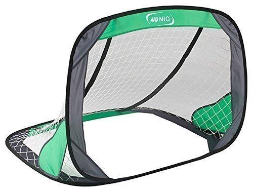 4UNIQ Fußballtor Pop Up Tor 120 x 80 cm, selbstentfaltend