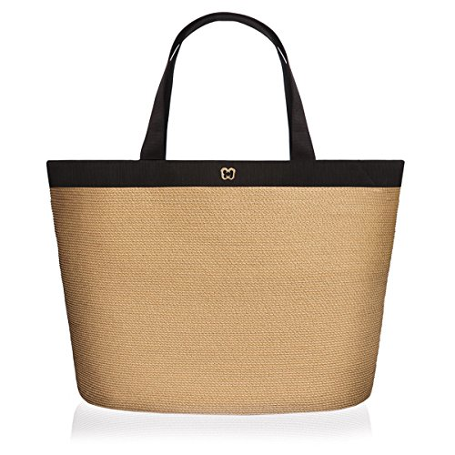 Eric Javits Women's 'Dunmere' Large Tote in Natural/Black by Eric Javits
