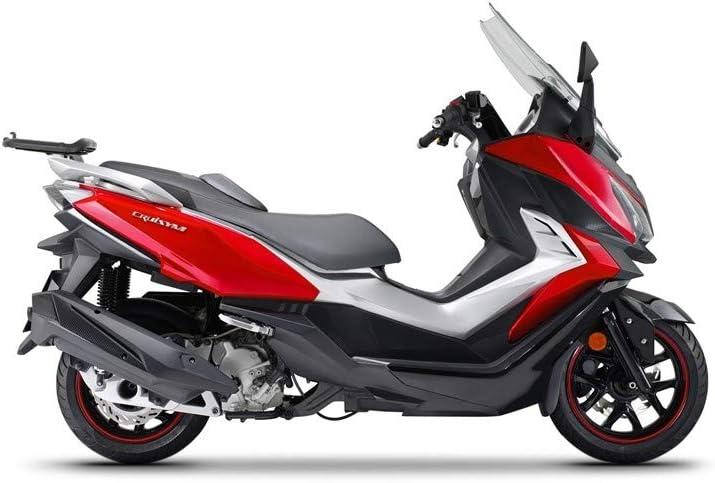 2018 Halterung f/ür Top-Case-Gep/äckfach f/ür Motoroller SHAD-S0CR38ST SYM Cruisym 125 300 I