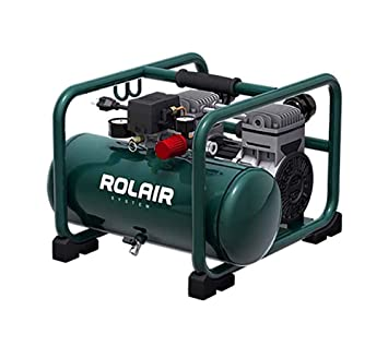 Rolair Hand Carry Portable 2HP Air Compressor Rolair JC20 Super Quiet 70dB 115 Volt - - Amazon.com